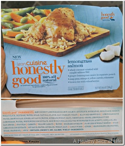 healthier frozen meal options- lean cuisine honestly good