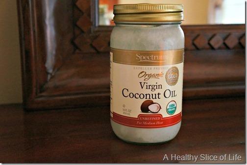 healthy swap- coconut oil