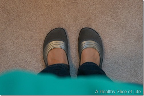 healthy swap- naot shoes