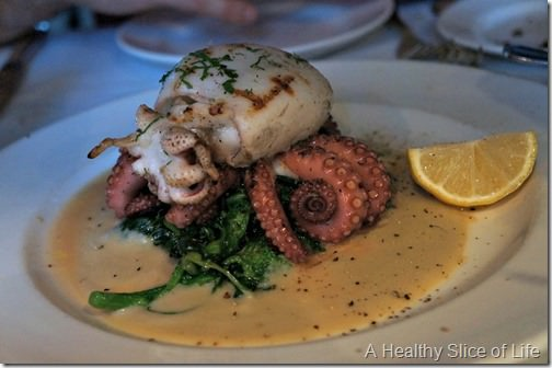 nyc part 2- la masseria octopus and cuttlefish
