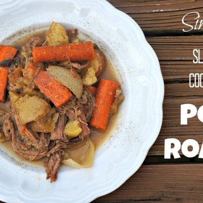 Simple, Slow Cooker Pot Roast