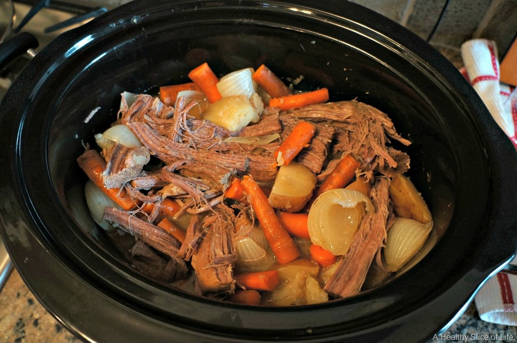 Simple, Slow Cooker Pot Roast