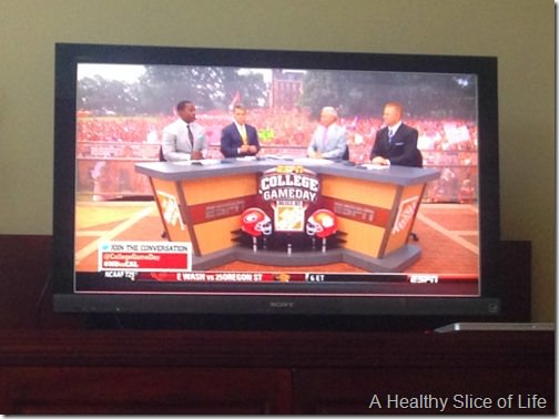 snapshots- college game day