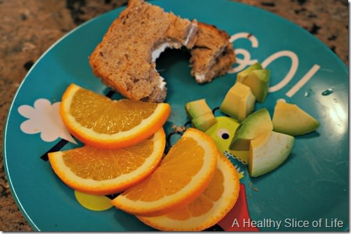toddler meals- 2 minute lunch