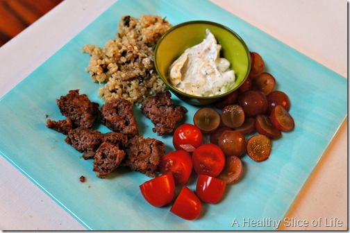 toddler meals- Greek plate