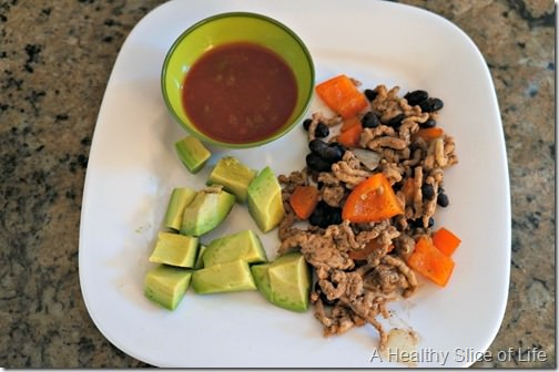 toddler meals- deconstructed taco