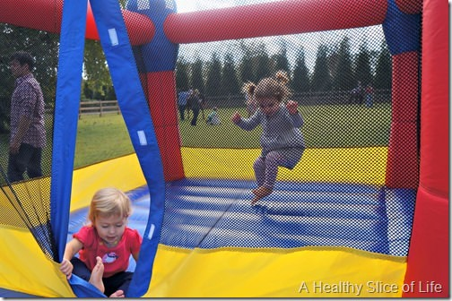 weekend happenings- bounce house