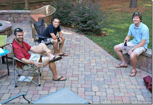 weekend happenings- cookout men