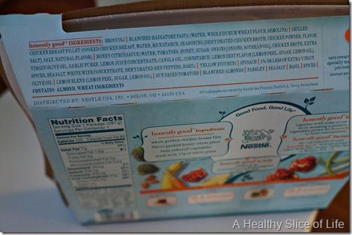 Lean cuisine honestly good- honey citrus chicken ingredients