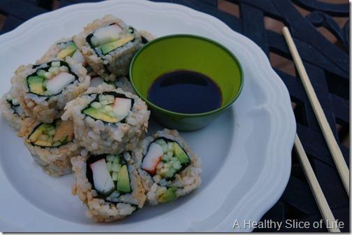 day in the life- harris teeter sushi