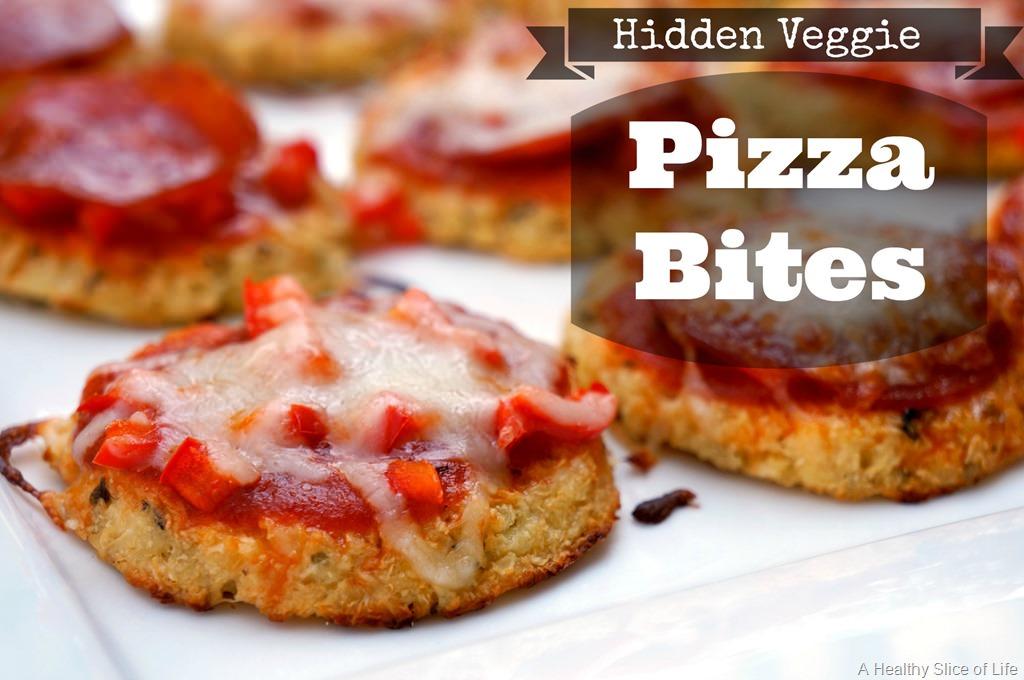 Hidden Veggie Cauliflower Pizza Bites