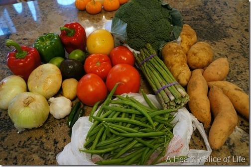 josh's farmers market fall haul