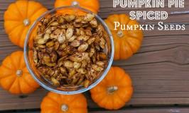 Pumpkin Pie Spiced Pumpkin Seeds
