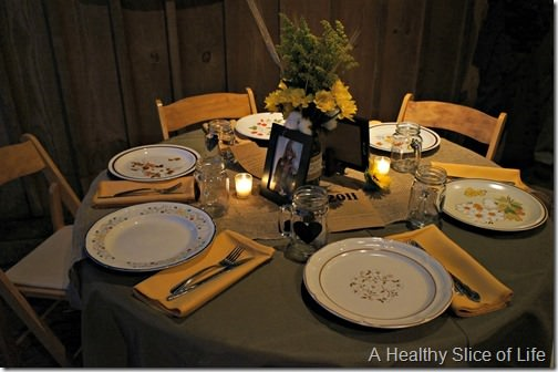 rob and libby- table setting