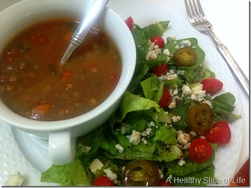 soup or salad