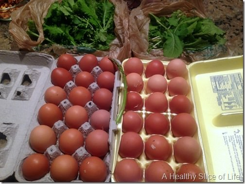 wiaw- fresh eggs