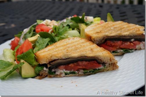 wiaw- grilled portabello mushroom sandwich