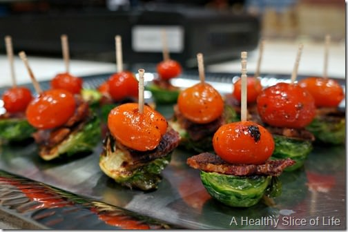 Chef Alyssa's Kitchen Cooking Class Atherton Mill- appetizer