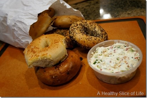 NY Bagel Mooresville - weekly haul