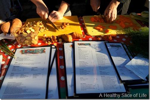 davidson farmers market chef-off- fork