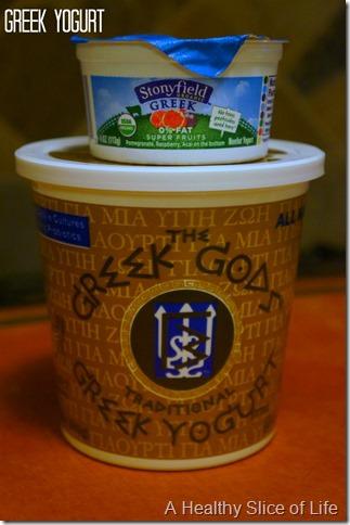eat every week- greek yogurt