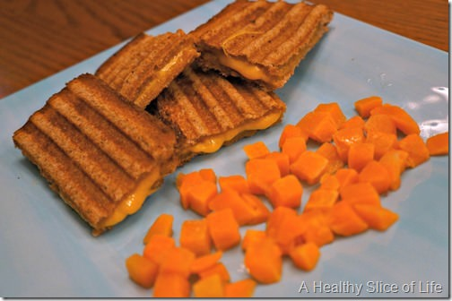 healthy easy convenient toddler foods- classic grilled cheese