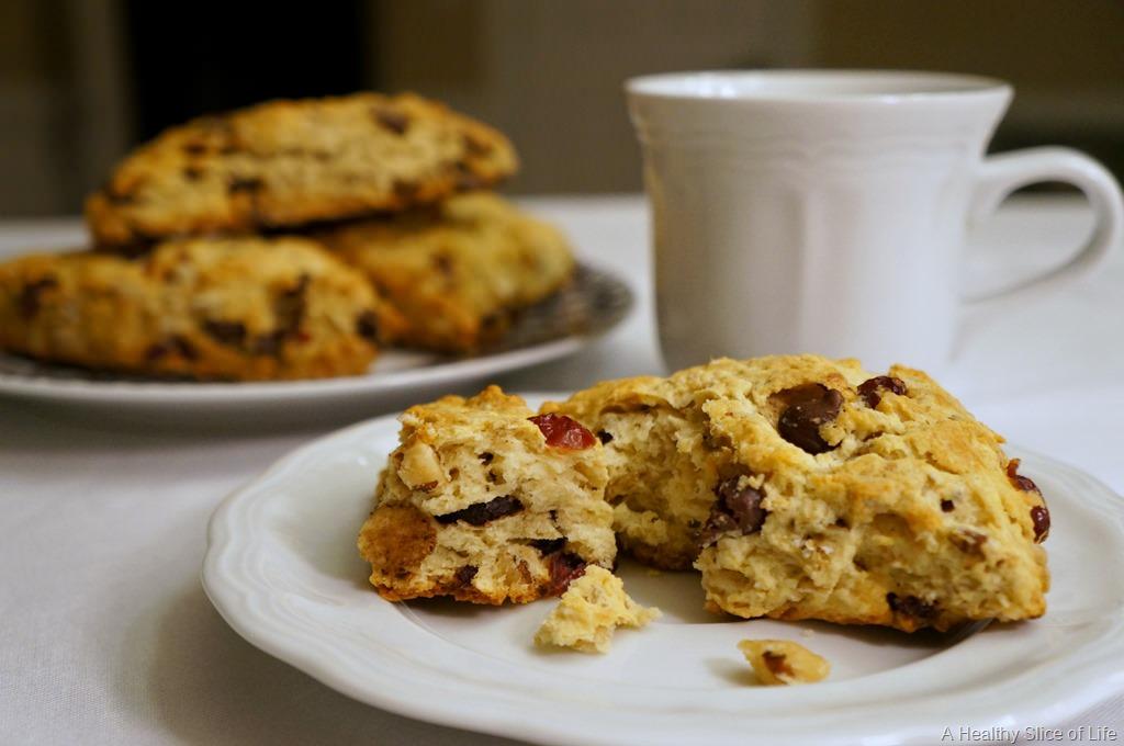 {Recipe} Cranberry Walnut Oatmeal Scones