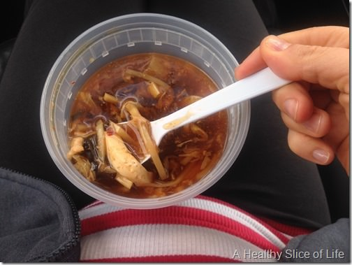 pregnancy eats- hot and sour soup