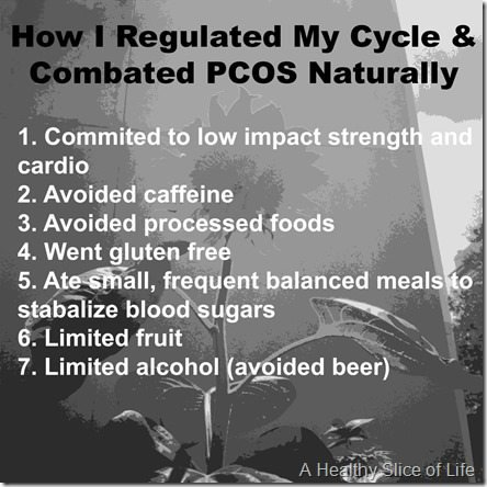 Dietary Changes for Regulating Cycles and PCOS