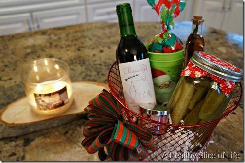 Christmas prep- homemade gift baskets