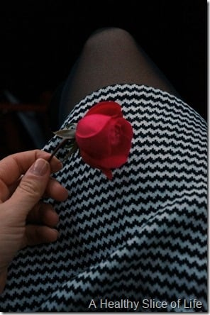 baby #2 gender reveal date night- rose