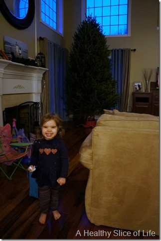 happy hailey tree before