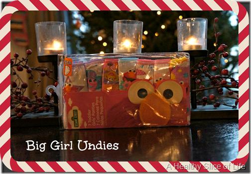 toddler stocking stuffers- big girl undies