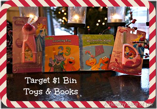 toddler stocking stuffers- target one dollar bin