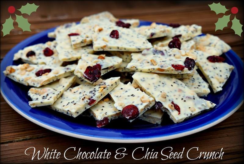 White Chocolate Chia Crunch