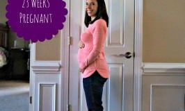 23 Weeks Pregnant & Baby Registries