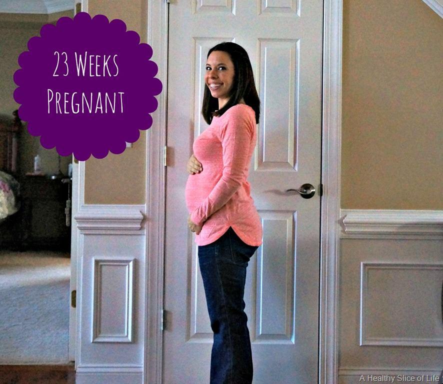 23 Weeks Pregnant & Baby Registries