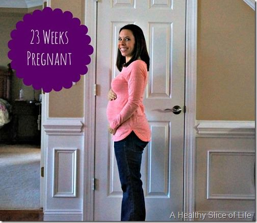 23 Weeks Pregnant & Baby Registries | A Healthy Slice of Life