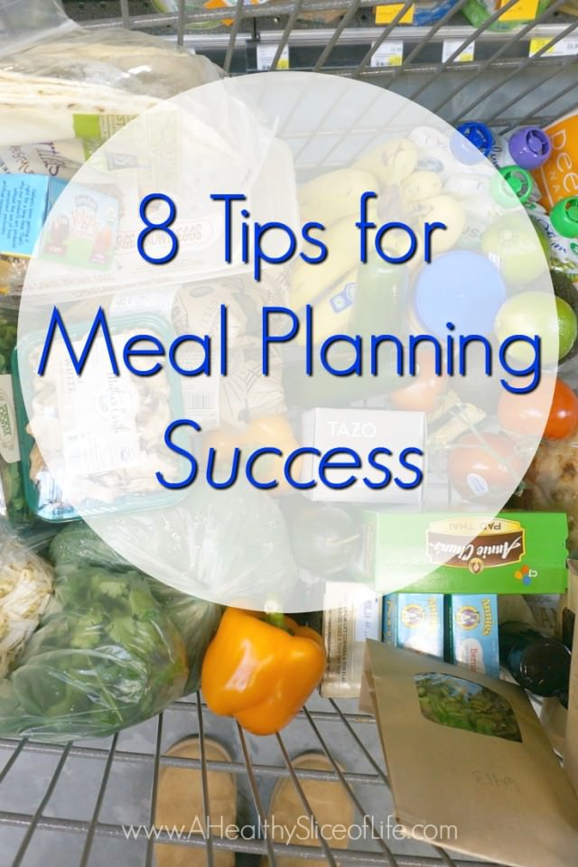 how to meal plan in 8 steps