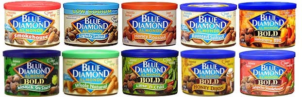 {Video} My Toddler Tastes Blue Diamond Almonds