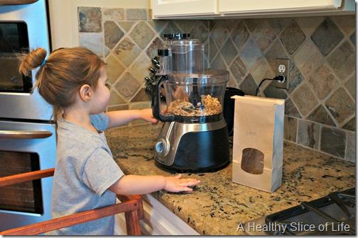 kids in the kitchen- food processor