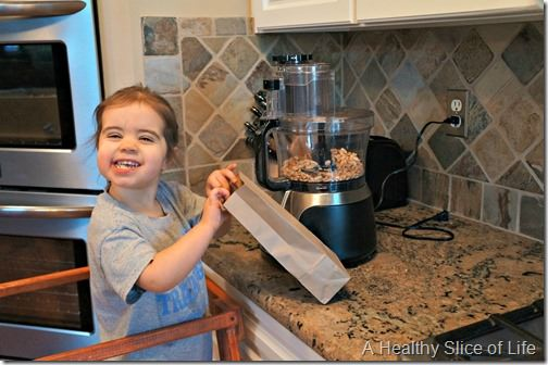 kids in the kitchen- sampling new foods