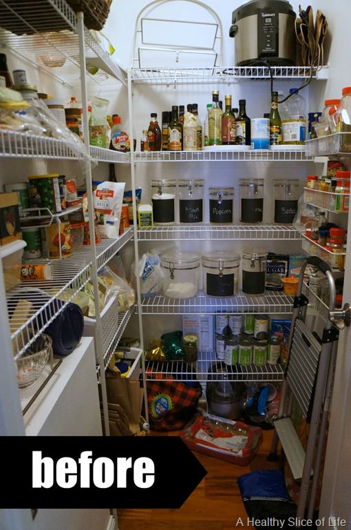 Pantry Organization & My Healthy Eating Essentials