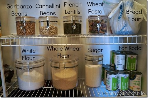 pantry clean out dried beans and flour B thumb Pantry Organization & My Healthy Eating Essentials