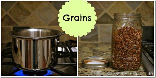 toddler meal prep- a grain