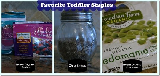 toddler meal prep- favorite staples