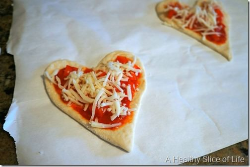 veggie calzones for kids- filling