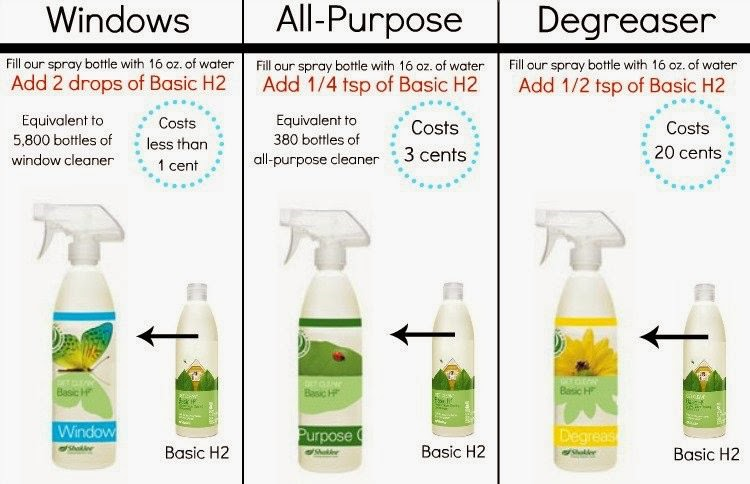 Shaklee Basic H concentrated cleaner The Green Gift Guide   8 Earth Friendly Gifts