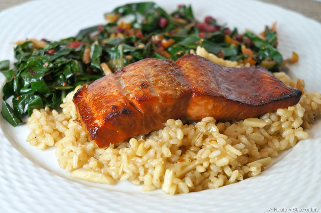 Brown Sugar and Bourbon Salmon