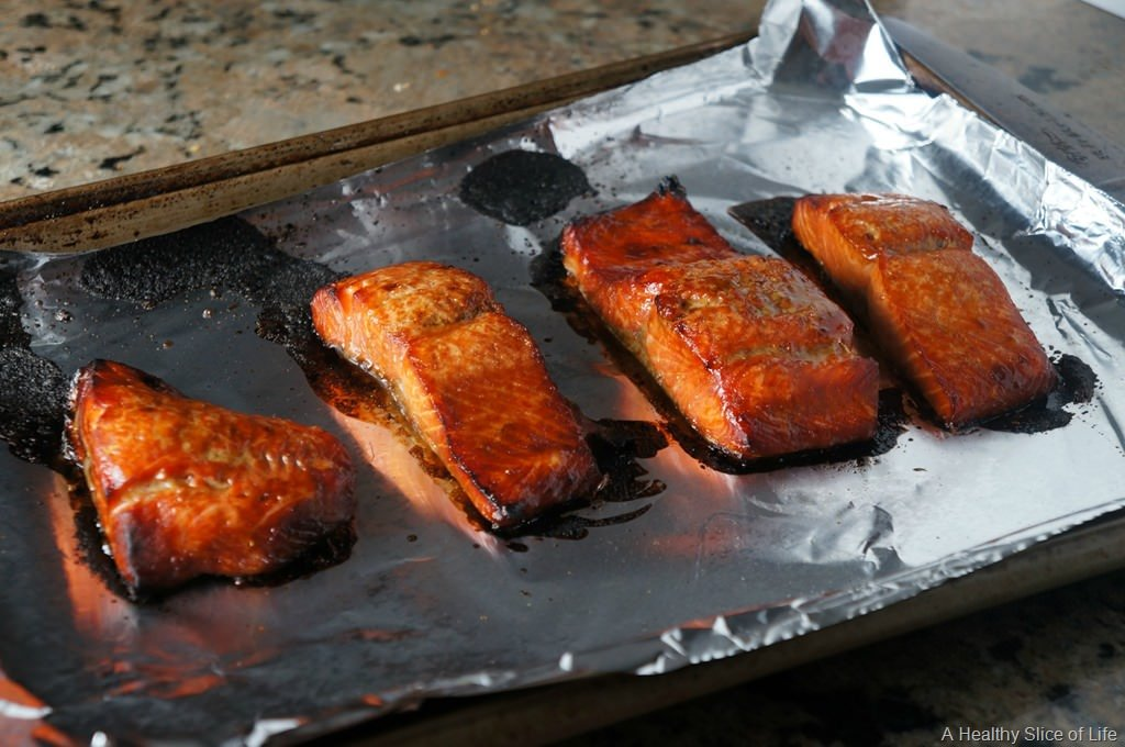 Brown Sugar and Bourbon Salmon